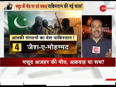 Jaish-e Mohammad chief Masood Azhar dead