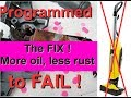 How to protect KÄRCHER FC 5 wet vacuum cleaner from programmed failure. More oil, less rust!