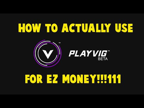 The ACTUAL WAY TO USE PLAYVIG (Get TOKENS AUTOMATICALLY!!!)