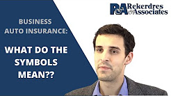 Business Auto Insurance - What do the different Symbols mean