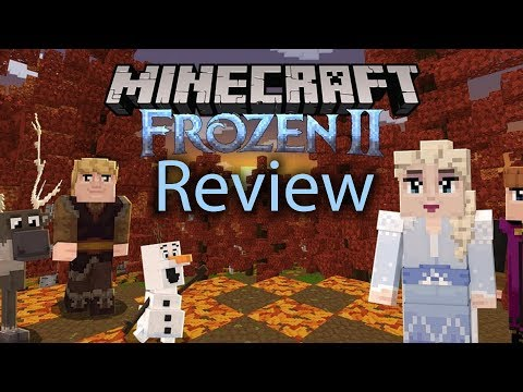 Minecraft Frozen Gameplay Review (Adventure Map Frozen 2)