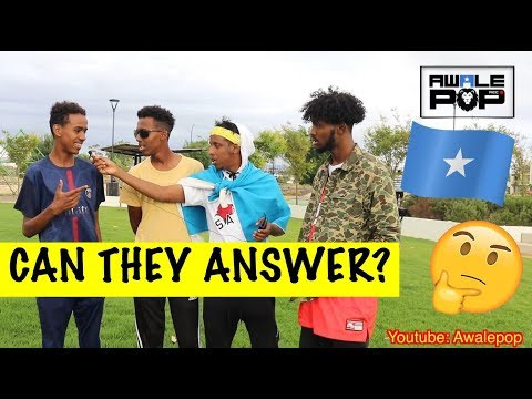 CAN YOU NAME THE SOMALI ALPHABET? -SOMALI CHALLENGE!!