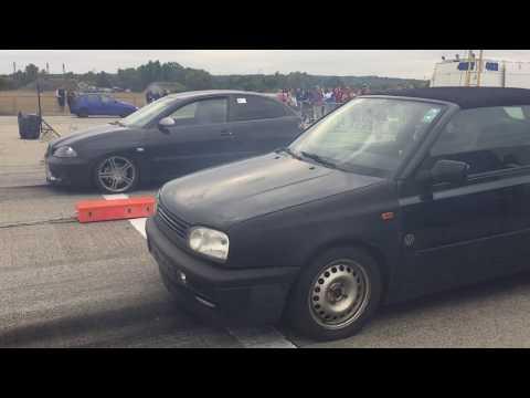 VW Golf 3 1.9 TDi Tuning Vs Seat Ibiza 1.9 TDi Chiptuning - Diesel Tuning Extrem - 1/4 Mile