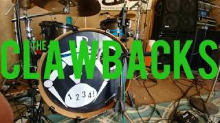 Recording those sweet punk rock tones.