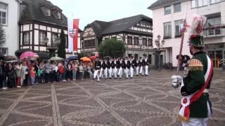 Parade der Junggesellen Schützenfest-Samstag 2016