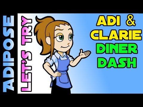 Diner Dash Gameplay - Let's Try!