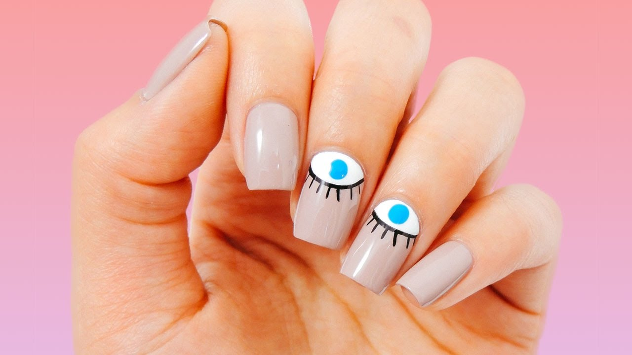 How To: Evil Eye Nail Art | ipsy Nailed It - How To: Evil Eye Nail Art Ipsy Nailed It - YouTube