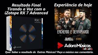 Baixar Zé Neto e Cristiano - ENCHENDO E DERRAMANDO Resultado Tirando a voz no IZOTOPE X7 - Playback Karaokê