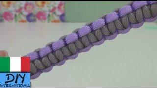 Paracord bracelet tutorial ita - Come realizzare un braccialetto paracord in italiano