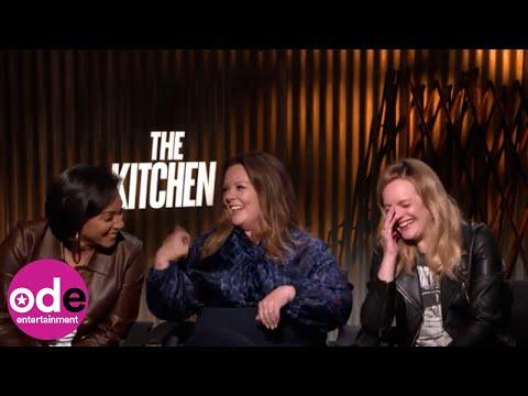 THE KITCHEN: Who's Toughest - Tiffany Haddish, Melissa McCarthy or Elisabeth Moss?
