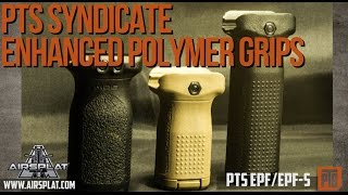 PTS Airsoft Enhanced Polymer Foregrips - Airsplat on Demand