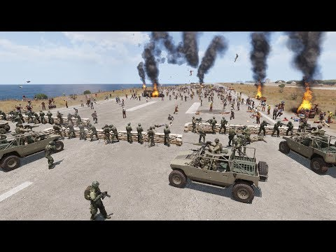 ZOMBIES LAST STAND - Arma 3 (4K Gameplay)