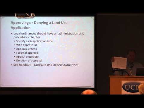 Approving Land Use Projects