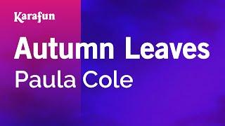Karaoke Autumn Leaves - Paula Cole *
