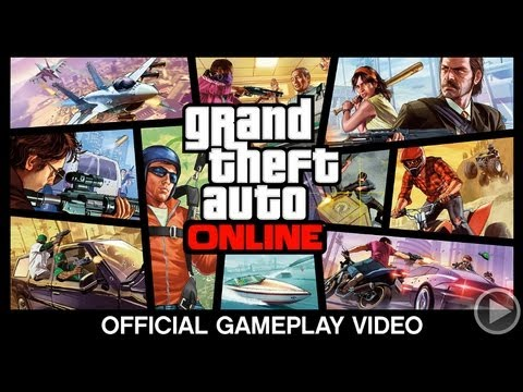 GTA 5 Multiplayer Gameplay Trailer - Grand Theft Auto Online