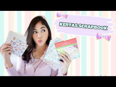 Scrapbook Supplies    Bahan Kertas Scrapbook (Part 2)