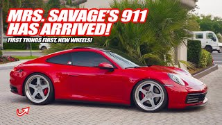 WHEEL SHOPPING FOR MRS. SAVAGE'S PORSCHE 911 992 CARRERA!