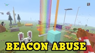 How To ABUSE Beacons In Minecraft