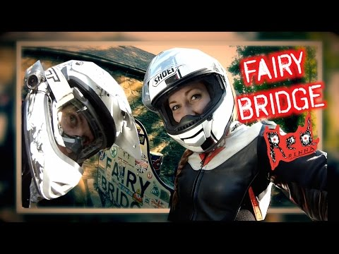 The Ride Out to Fairy bridge - Isle of Man