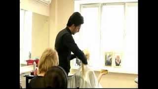 Прическа для невест от Фарруха Шамуратова(Создание прически для самой прекрасной невесты, это событие должно запомниться на всю жизнь. Мастер класс..., 2012-05-05T11:07:54.000Z)