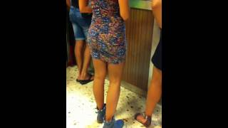 SEXY ITALIAN WOMAN ORDERING PIZZA 2