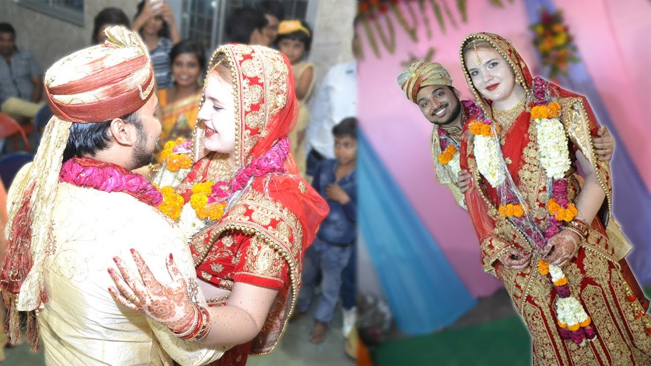 Indian Wedding Party - Indian + Foreigner