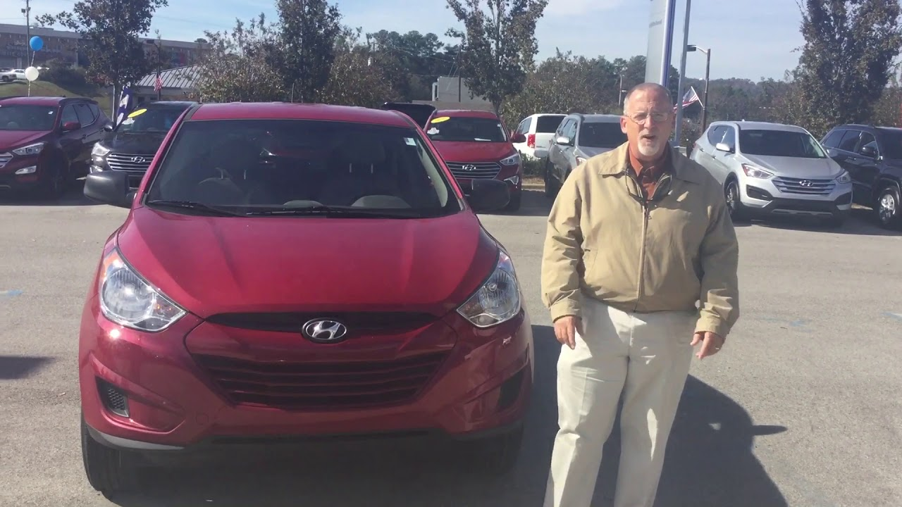 Kathy's 2013 Hyundai Tucson @ Tameron Hyundai in Hoover - YouTube