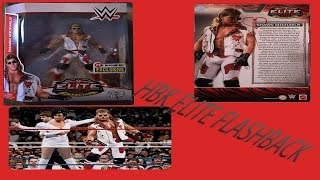 the unboxing and review of wwe hbk shawn micheals elite flashback figure