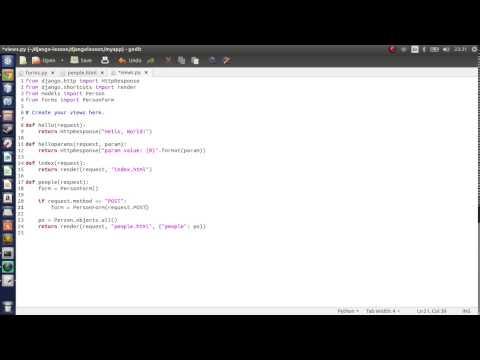 Python 27 - Django - Forms