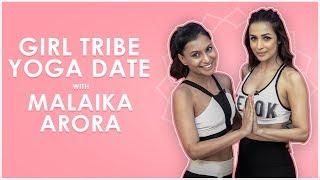 Yoga Date with Malaika Arora & Malini's Girl Tribe | MissMalini