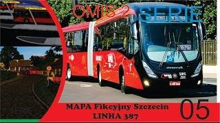 OMSI 2- Mapa- Fikcyjny Szczecin 2.050.02 -  linha 387