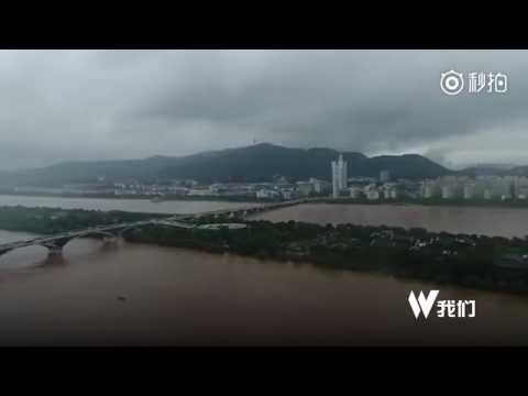 Major Yangtze River tributary breaks record flood level