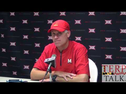 Maryland Football - DJ Durkin Presser after Texas