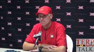 Maryland Football - DJ Durkin Presser after Texas