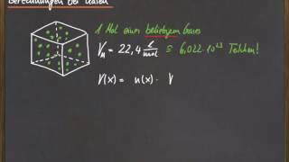 09 Volumenberechnungen bei Gasen