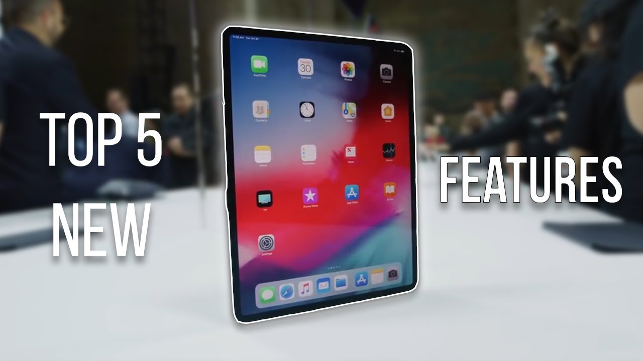 78ee9ee013e iPad Pro 2018: Top 5 Best Features, Tips & Tricks Review! - YouTube