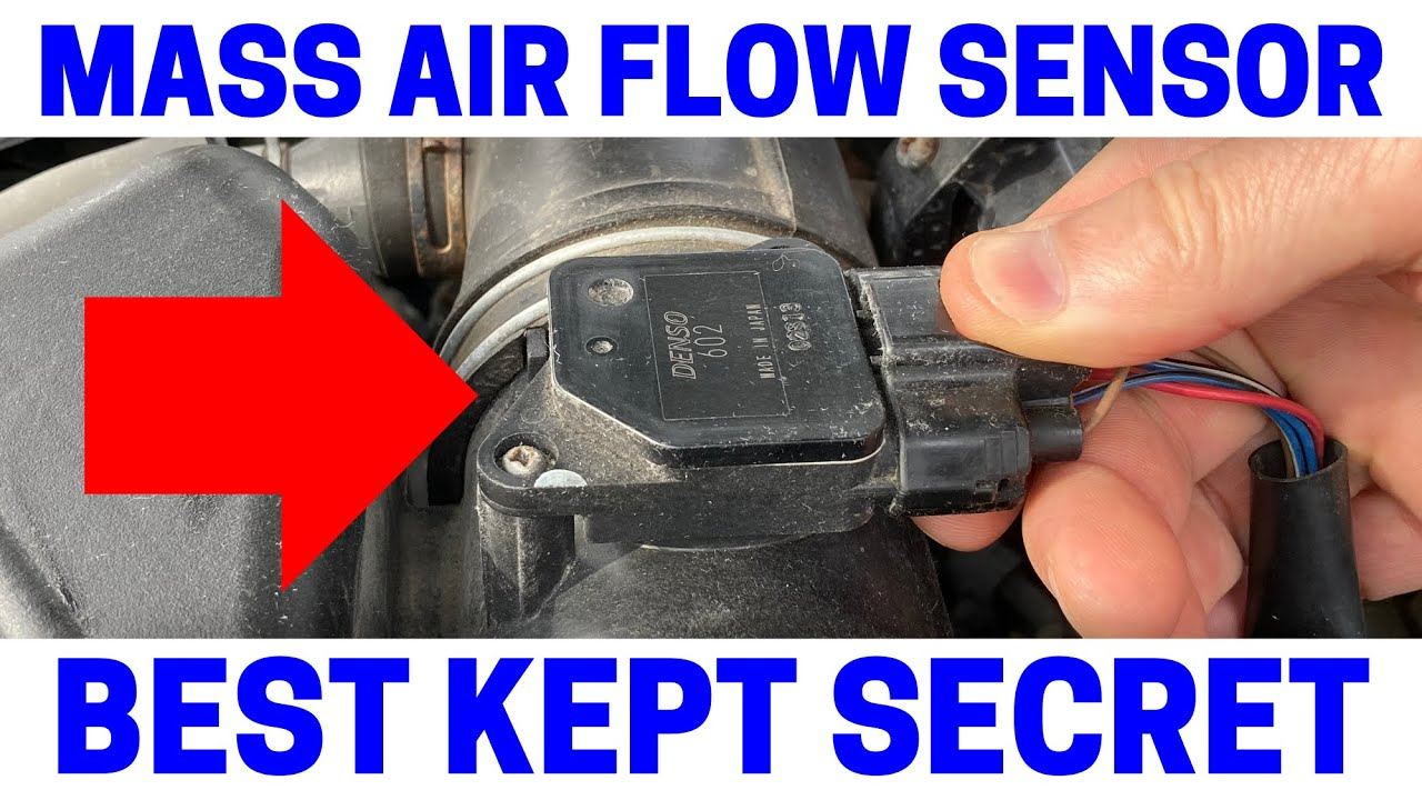 how to tell if your mass air flow sensor is bad on your car