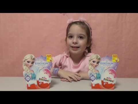 FROZEN KINDER SURPRISE ФРОЗЕН КИНДЕР СЮРПРИЗЫ video for kids
