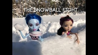 The Snowball Fight-  A MH/EAH stop motion