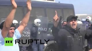 Idomeni 29.03.16 - DIE WAHRHEIT,  Refugees out of Control