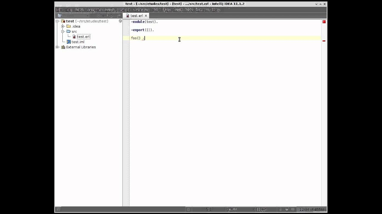 Erlang SDK support in IntelliJ Erlang plugin