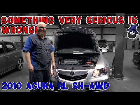 Something Very Serious is Wrong with this 2010 Acura RL! What did the CAR WIZARD find???