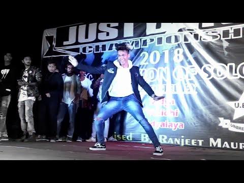 MERE RASHKE QAMAR  II just dance championship 2018 II SAGAR RAI