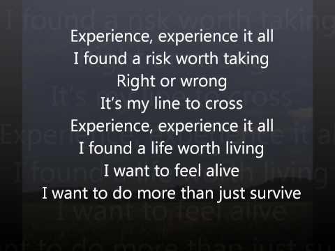 Experience - Trapt - Lyrics