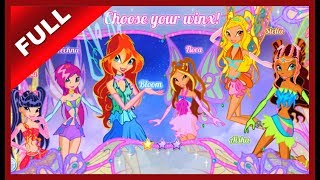 Winx Club Online Flash Game - World of Winx All Levels - Nickelodeon Games