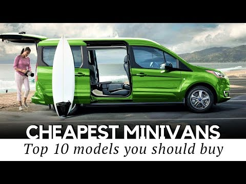 10 Cheapest Minivans and MPVs on Sale in 2020 (Interior & Exterior Review)