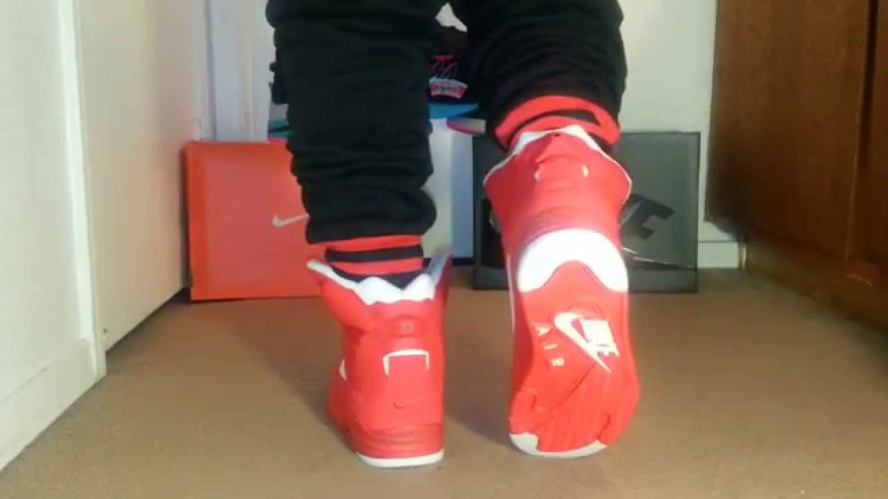 9f2e1e6967fc59 ON FOOT  Nike Air Command Force (Red Billy Hoyle) - YouTube