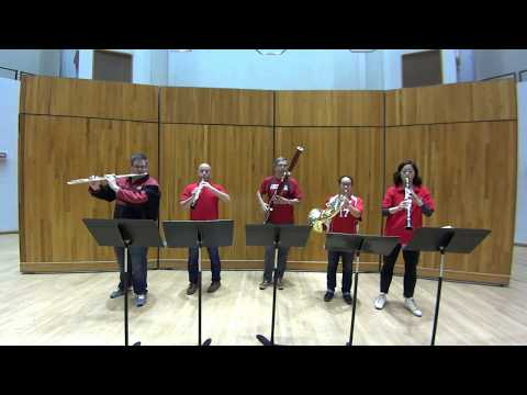 Wingra Quintet: On, Wisconsin!