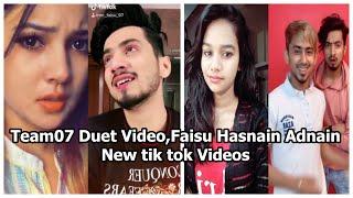 Faisu Duet Video Team 07 New Tik Tok Comedy Video Faisu New Tik Tok Video Hasnain Adnaan Saddu Faiz