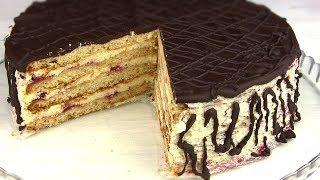 """Торт""""СТЕФАНИЯ""""/Простой и Очень вкусный/Медово-Песочный Торт"""